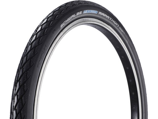 """SCHWALBE Marathon Tyre Performance 20"""" Greenguard, wire bead Reflex"""
